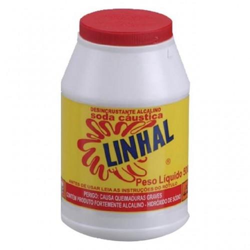 SODA CAUSTICA LINHAL 500GR POTE PC 6