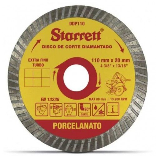 DISCO DIAM.P/PORCELANATO STARRET  PC 1