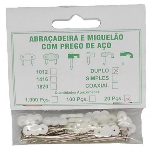 ABRAC.P/FIO MIGUELAO DUPLO ACO(C/20)VJ PT 10